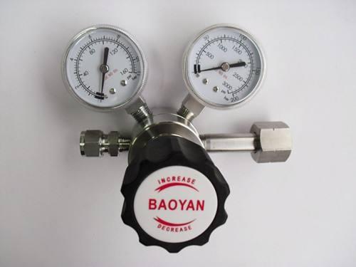 保定氮气减压表